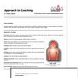 Approach to Coaching report